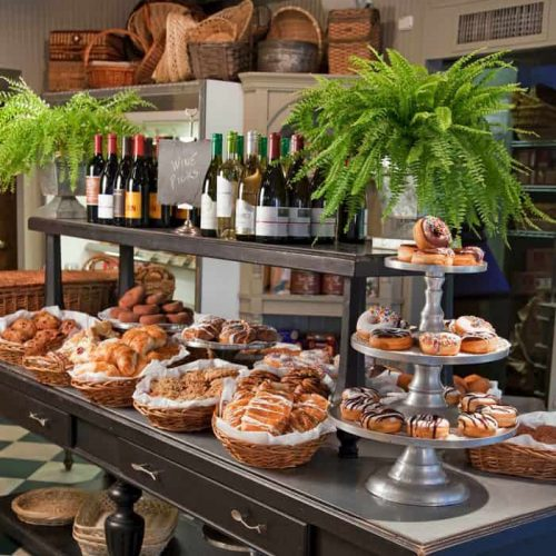 Pastries at Brennan's