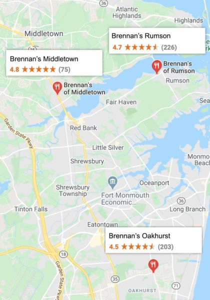 Brennans Locations