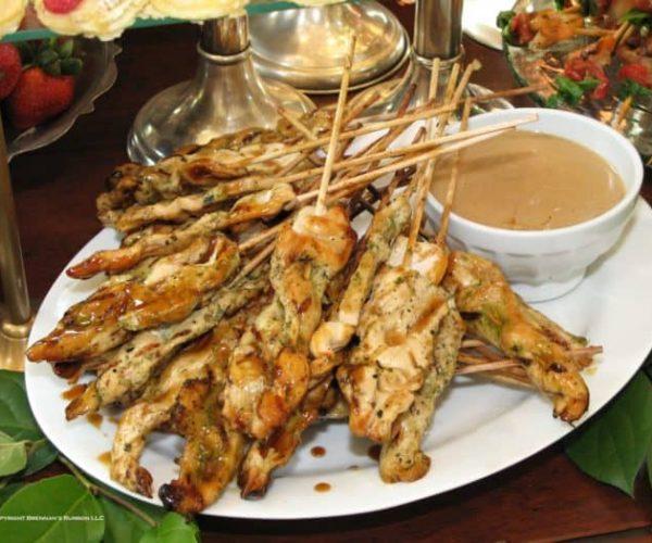 Brennan's Chicken Satay