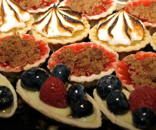 Various Sweet Tartlets at Brennan's